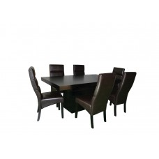 Jost Solid Wood Dining Set VT39722 (ST) With 6 Chairs PSC29