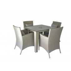 Jost Garden Square Table with 4 Chairs